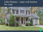 Lilly Homes - Cape Cod Homes For Sale