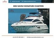 Private Yacht Charter Koh Samui