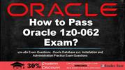 Oracle 1z0-062 Practice Test Questions Answers
