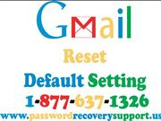 How to reset Gmail to its default settings