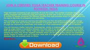 Join A Certified Yoga Teacher Training Course in Rishikesh, India