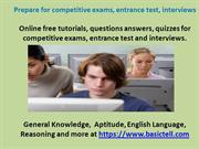 General Knowledge Questions at Basictell Knowledge Hub