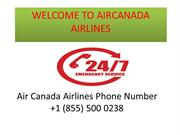 Air Canada Airlines Phone Number