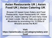 Asian Restaurants UK | Asian Food UK | Asian Catering UK