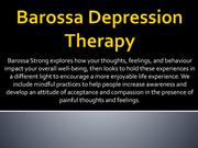 Barossa Depression Therapy-Barossa Strong