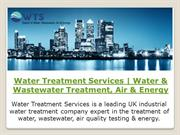 Water Treatment Services | Water & Wastewater Treatment, Air & Energy