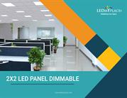 Change Fluorescent Ceiling Lights With 2x2 LED Panel Lights