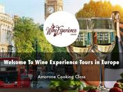 Wine Experience Tours in Europe Presentations