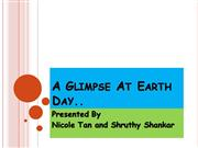 A Glimpse At Earth Day