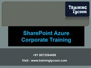 SharePoint Azure Corporate Training | SharePoint Azure Training - TT