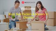 Packers and movers in Chennai- Nobroker