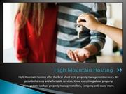 Professional Property Management Service | High Mountain Hosting