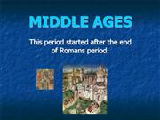 MIDDLE AGES 4