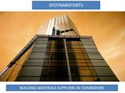 Building materials suppliers in coimbatore|