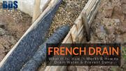 What Is french Drain And how it Works.