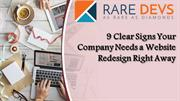 9 Clear Signs Your Company Needs a Website Redesign Right Away