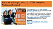 summer training certification |summer training institute in noida