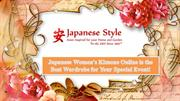 Japanese Women's Kimono Online is the Best Wardrobe for Your Special E