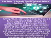 Sylvia Mardini - To Become An Expert Of The Internet Marketing, Read T