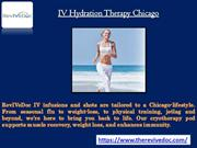 IV Hydration Therapy Chicago IV Treatment