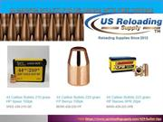 44 Magnum Bullets for Reloading with Free Shipping