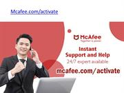 mcafee.com/activate - Activate Product Key Activate McAfee