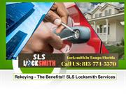 Rekeying The Benefits at SLS Locksmith Services