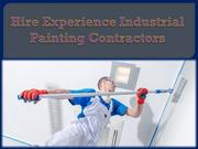 Hire Experience Industrial Painting Contractors