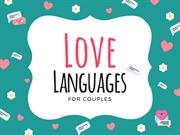Love Languages is How You Show Love