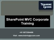 SharePoint MVC Corporate Training | SharePoint MVC Classroom Training
