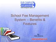 Benefits of School Fee Management System & Features | Our Campus