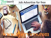 Job Advertise for free