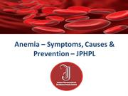 Anemia – Symptoms, Causes & Prevention – JPHPL