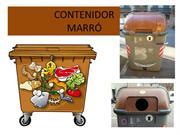 SEPAREM PER RECICLAR -MARRÓ