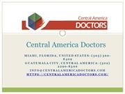Central America Doctors - Doctors in Guatemala