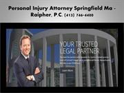 Springfield MA Medical Malpractice Lawyer