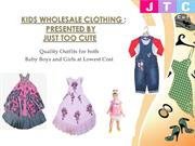 Kids Wholesale Clothing