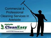 Commercial & Professional Cleaning Services in Adelaide