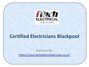 Certified Electricians Blackpool