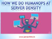 How we do HumanOps at Server Density