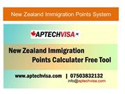 Latest New Zealand Immigration Points Calculation