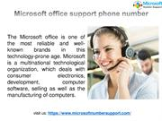 Microsoft support Phone Number PDF