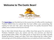 Increase Your Love For Coffee With Exclusive Coffee Beans