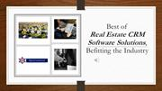 11 Best Real Estate CRM to manage your Real Estate customers