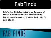 Beauty Products Online UK | FabFinds