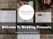Wedding Elements Presentations