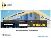 Sea Freight Shipping Logistics Dubai