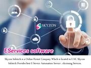 Skyzon Infotech is Very Good Example of Eservices Provider
