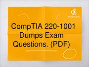 CompTIA 220-1001 Exam Dumps, MCP AZ-200 Latest Questions Answers Mater