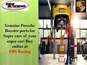 Genuine Porsche Boxster parts